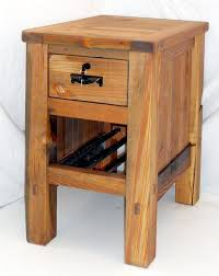 end table with locking drawer locking nightstand 10