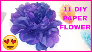 Flower Wall Decor 11 Diy Paper Flowers Wall Art Room Decor How To Make Paper