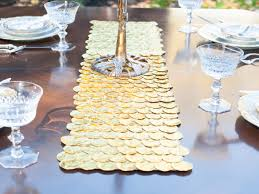 make your own table runner diy thanksgivukkah tablescape ideas the nosher