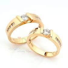 cincin lapis emas cincin kawin sulaira perak 925 lapis emas sepasang cincin kawin