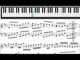 tutorial piano canon learn pachelbel s canon in d major for piano tutorial youtube