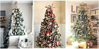 christmas tree decorating ideas 25 unique christmas tree decoration ideas pictures of decorated
