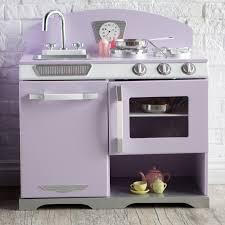 kidkraft 2 piece lavender retro kitchen and refrigerator 53290