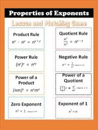 laws of exponents lesson laws of exponents zero and negative