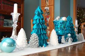 Christmas Tree Decorations In Blue Silver And White by Decoration Blue And White Christmas Tree Decorations Ideas Silver