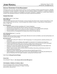 resume examples retail sales assistant