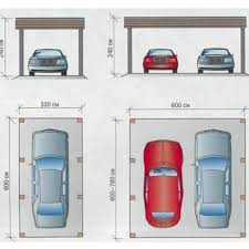 size of standard one car garage descargas mundiales com