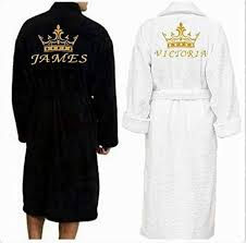 wedding gift hers uk personalised dressing gown bath robe customised gift gift for