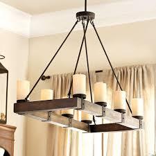 Chandelier Over Table Lighting Over The Farmhouse Table The Winner Rectangular