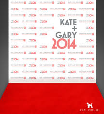wedding event backdrop groom wedding carpet backdrop step and repeat banner
