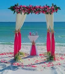 Wedding Arches Beach Barefoot Beach Weddings Destin Beach Weddings By Barefoot Weddings