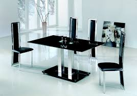 literarywondrous modern glass dining room tables images ideas home