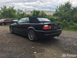 bmw m3 2005 convertible black on black 6mt manaul no longer