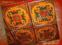 credenza tibetana credenze etniche buffet credenza tibetana dipinta