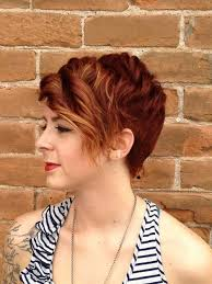 copper and brown sort hair styles 19 cute wavy curly pixie cuts we love pixie haircuts for short