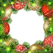 Decoration Christmas Png by Transparent Christmas Png Border Frame With Ornaments
