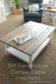 Lack Table Hack by Diy Farmhouse Coffee Table Diy Coffee Table Pinterest