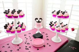 minnie mouse 1st birthday party ideas 1st birthday party table setup image inspiration of cake and