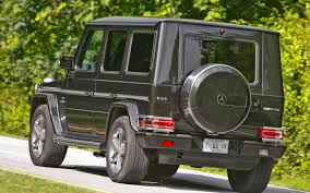 pre owned 2002 2009 mercedes benz g class truck trend