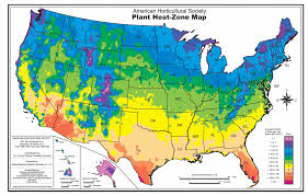 North America Climate Map by Thinking About Heat When Choosing And Placing Garden Plants The