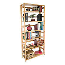 Folding Bookshelves - solid wood bookcases officefurniture com