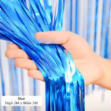 wedding backdrop blue shimmer wedding backdrop glitter curtain window metallic foil