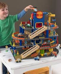 Plan Toys City Series Parking Garage Review by Free Plans For Wooden Toy Garage The Best Image Search