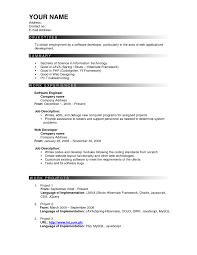 Best It Resume Format Resume Template The Best Cv Amp Templates 50 Examples Design