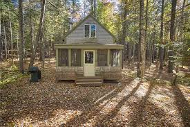 in the woods on the market a quaint cabin in the woods boston magazine