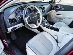 2015 Chrysler 200s Interior 2015 Chrysler 200 Is The New Benchmark In Midsize Sedans