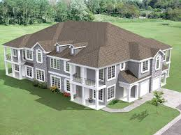 8 unit house plan with corner decks 18511wb architectural