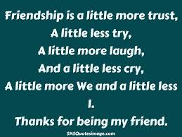 friendship thanksgiving quotes thanks for being a friend quote daily quotes of the life