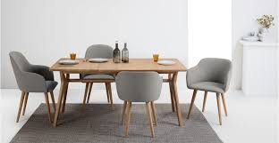 Shaker Dining Chair Appealing Set Of 2 Low Back Dining Chairs In Grey And Oak Stig