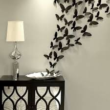 Diy Butterfly Decorations by Butterflies Wall Decorations Diy Butterflies Wall Decor Wall Decor
