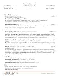Format For Resume For Internship Generic Resume Objectives Entry Level The Role Of Lady Macbeth