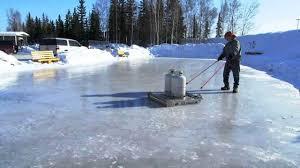 backyard ice rink resurfacer outdoor goods