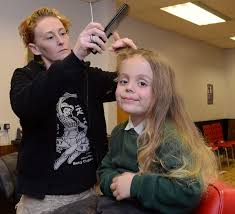 haircut for long torso rean carter has had his first hair cut five years after being