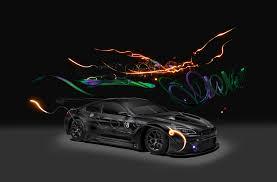 lexus turbo goes airborne 2017 bmw m6 gt3 art car goes digital automobile magazine