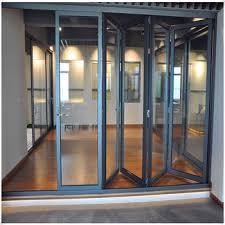 Aluminium Folding Patio Doors Thermal Broken Aluminum Folding Doors Bi Fold Patio Door Buy
