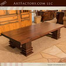 Custom Coffee Table by Custom Furniture Hand Carved Beds Custom Leather Sofas