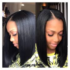 center part weave hairstyles 10 trendy center parting hairstyles for short medium long hair