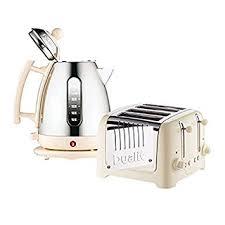 Dualit 4 Toaster Dualit 4 Slot Toaster Cordless Kettle Set Cream Amazon Co Uk