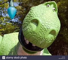 close rex toy dinosaur toy story play area