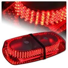 snow plow strobe lights 240 led red warning emergency vehicle truck snow plow safety top