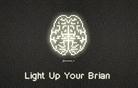 light up your brain light up your brain in pixels wallpaper by lil 2u on deviantart