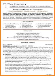 Itil Certified Resume 12 Management Resume Examples G Unitrecors