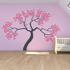 Cherry Blossom Tree Wall Decal For Nursery Wall Best Pictures Wall Trees Family Tree Decal For Wall