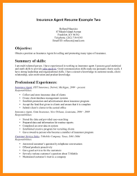 insurance agent resume examples resume example and free resume maker