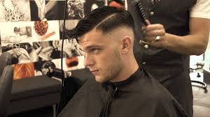how to style razor haircuts andrew barbershop razor faded hair cut youtube