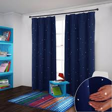 Nursery Curtains Blackout by Aliexpress Com Buy Nicetown Starry Night Sleep Enhancing Cosmic